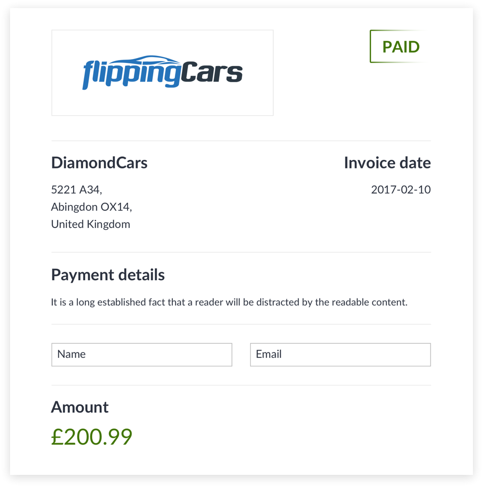 Pay car dealers